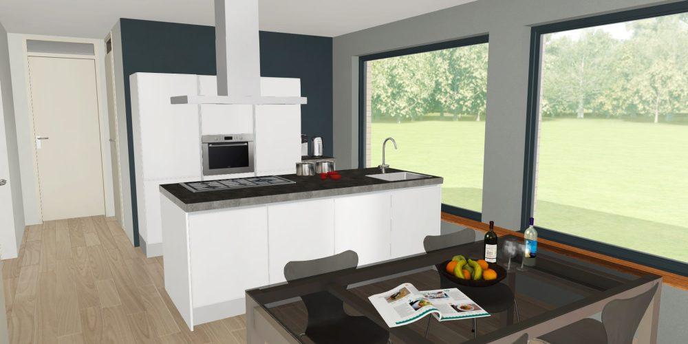 Nieuwe keuken ontwerp